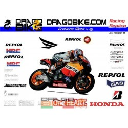 Motorbike Stickers Kit...