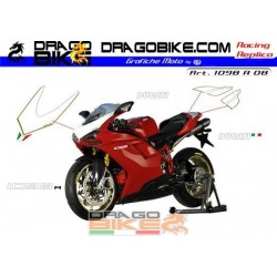 Stickers Kit Ducati 1098 r...