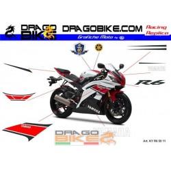 Stickers Kit Yamaha R6 WGP...