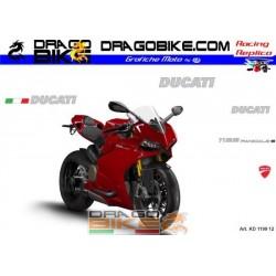 Stickers Kit Ducati 1199...