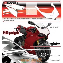 Number plate for Ducati...