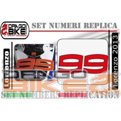 Race Number Jorge Lorenzo...