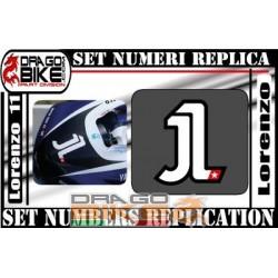 Race Number 1 Jorge Lorenzo...