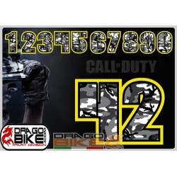 Race Number  Tape COD