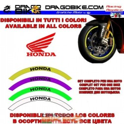 Stripe wheels Honda