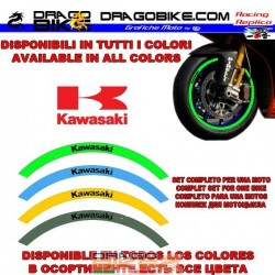 Stripe wheels Kawasaki