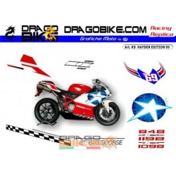 Stickers Kit Ducati HAYDEN...