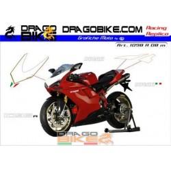Stickers Kit Ducati 1098 r...
