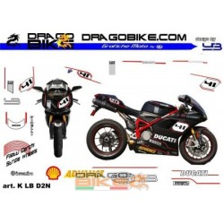 Stickers Kit For Moto Ducati