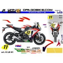 Stickers Kit For Honda CBR...