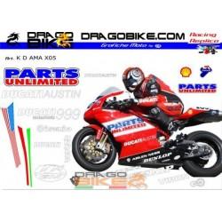 Stickers Kit Ducati SBK USA...