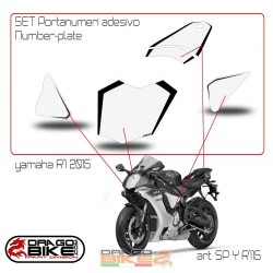 Number Plate for Yamaha R1...