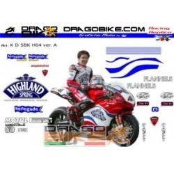 Sticker Kit Ducati Haga...