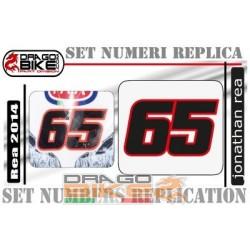 Race Number Jonathan Rea 65 (2014)