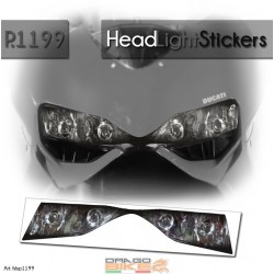Headlight Stickers Ducati...