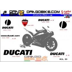 Sticker Kit   Light for Ducati