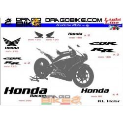 Sticker Kit Light for Honda...