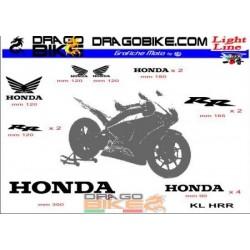 Sticker Kit   Light for Honda