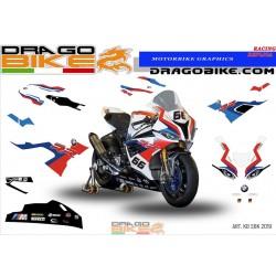 Kit Adesivo Moto Replica...