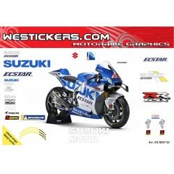 Kit Adesivo Moto Suzuki...