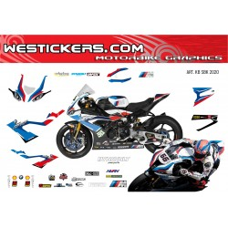 Motorbike Stickers BMW SBK...