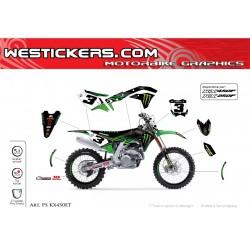Motocross stickers kit...