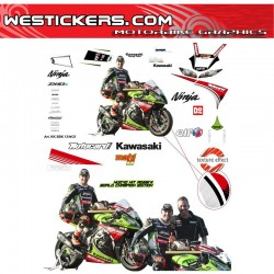 Race stickers kit Kawasaki...