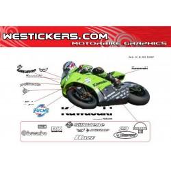 Stickers Kit Kawasaki...