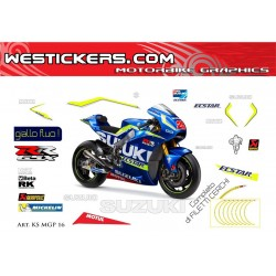 Race stickers kit Suzuki...