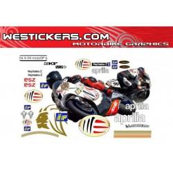 Stickers Kit Aprilia MotoGP...