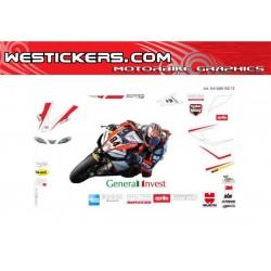 Stickers Kit Aprilia Red...