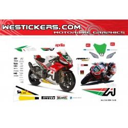 Stickers Kit Aprilia SBK...