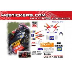Stickers Kit Aprilia RSV...