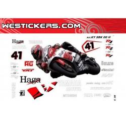 Motorbike Stickers Kit Yamaha SBK 2000 H