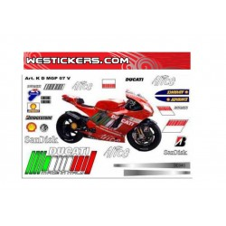 Kit Adesivi Ducati MotoGP...