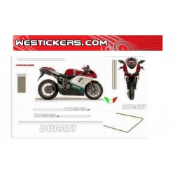 Stickers kit 1098 Tricolore...