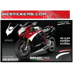 Stickers Kit Ducati 2010...