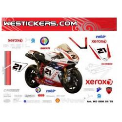 Stickers Kit Moto Ducati...