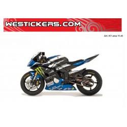 Motorbike Stickers Yamaha R6 2011 SBK  Ama