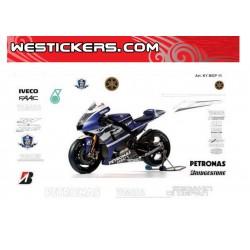 Motorbike Stickers Yamaha MotoGp 2011