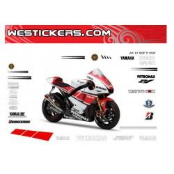 Motorbike Stickers Yamaha MotoGp 2011 WGP