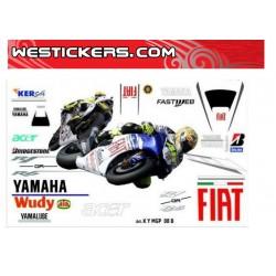 Stickers Kit Yamaha MotoGP...