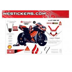 Stickers Kit Yamaha SBK...