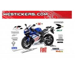 Stickers Kit Yamaha R1 2008...