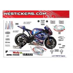 Motorbike Stickers Kit Race...