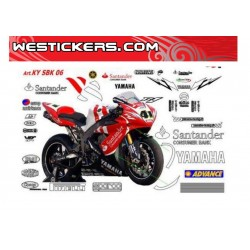 Motorcycles Decals Yamaha...