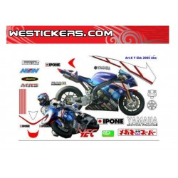 Decals Stickers Kit Yamaha...