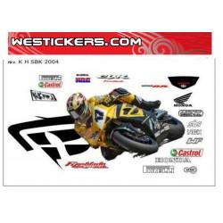 Race Replica Stickers Kit...