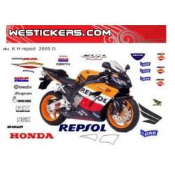 Stickers Kit Original Honda...