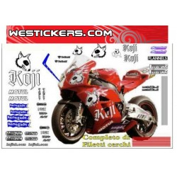 Graphics Decals Honda SBK...